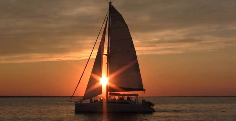 Sunset-through-the-Sail