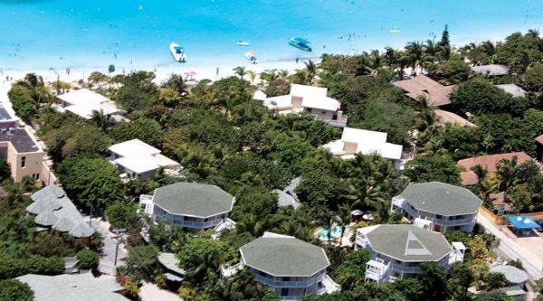 Vista aérea Paradise Beach