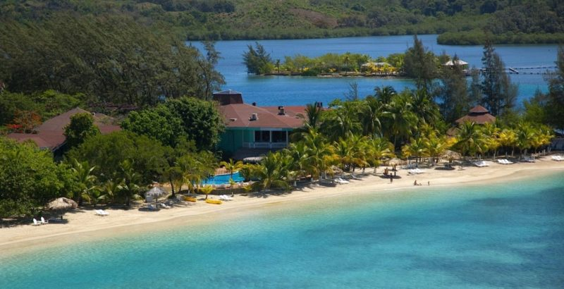 Fantasy Island Resort. Roatn, Honduras.