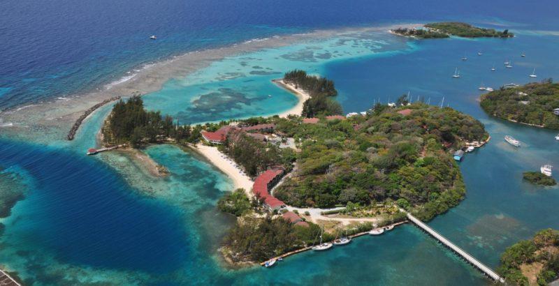 Fantasy Island vista aerea