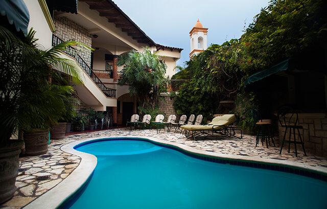 Hotel Plaza Copan - Pool