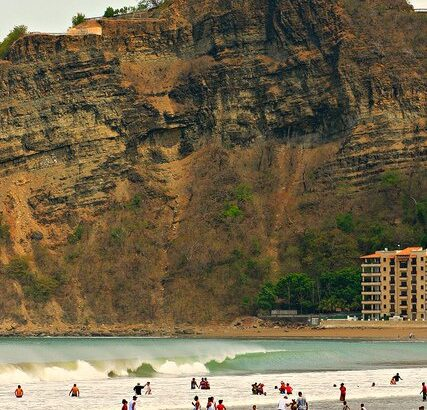SAN JUAN DEL SUR BEACH AND CHRIST