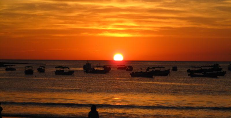SAN JUAN DEL SUR PERFECT SUNSET